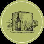 Weinshop mit Sulzer / Aargauer Weinen, Barrique Grafik